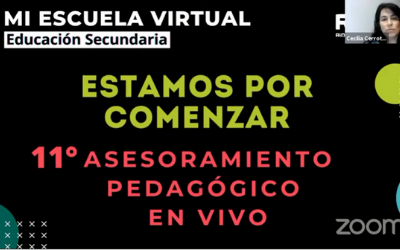 11mo Asesoramiento Pedagógico en VivoLas Tecnologías