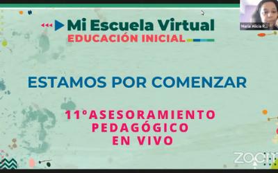 11vo Asesoramiento Pedagógico en Vivo Cerrando el 2020 con miras al 2021