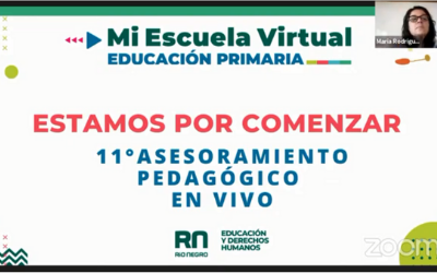 11vo Asesoramiento Pedagogico en Vivo. Propuestas para diseñar la clase en Mi Escuela Virtual