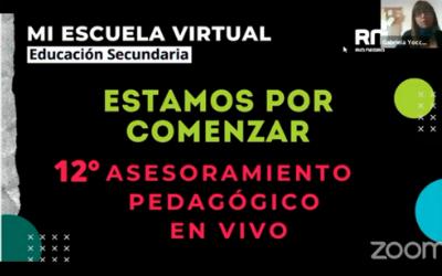 12mo Asesoramiento Pedagógico en Vivo.Puertas de entradas a MI AULA VIRTUAL