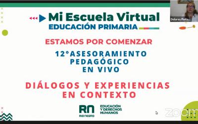 12º Asesoramiento Pedagógico en Vivo Diálogos y experiencias en Mi Escuela Virtual