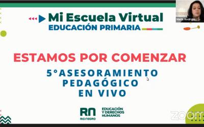 5to Asesoramiento Pedagógico en Vivo Las estrategias y actividades en el aula virtual