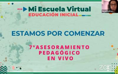 7mo Asesoramiento Pedagógico en Vivo.Actividades para diseñar la propuesta en el aula virtual