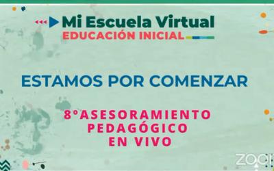 8vo Asesoramiento Pedagogico en Vivo Materiales digitales para la enseñanza
