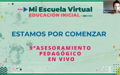 9no Asesoramiento Pedagogico en Vivo #HaciendoEscuelaRN recorrido de una propuesta para la creacion y producción de actividades específicas para el nivel
