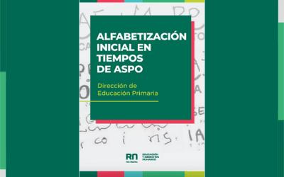 Alfabetización inicial en tiempos de ASPO