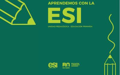 Aprendemos con la ESI. Educación Primaria