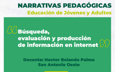 Busqueda, evaluación y producción de información en internet