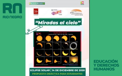 Miradas al cielo. Eclipse 2020